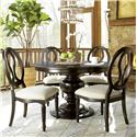 Universal Summer Hill 5 Piece Dining Set - Item Number: 988656+4x636