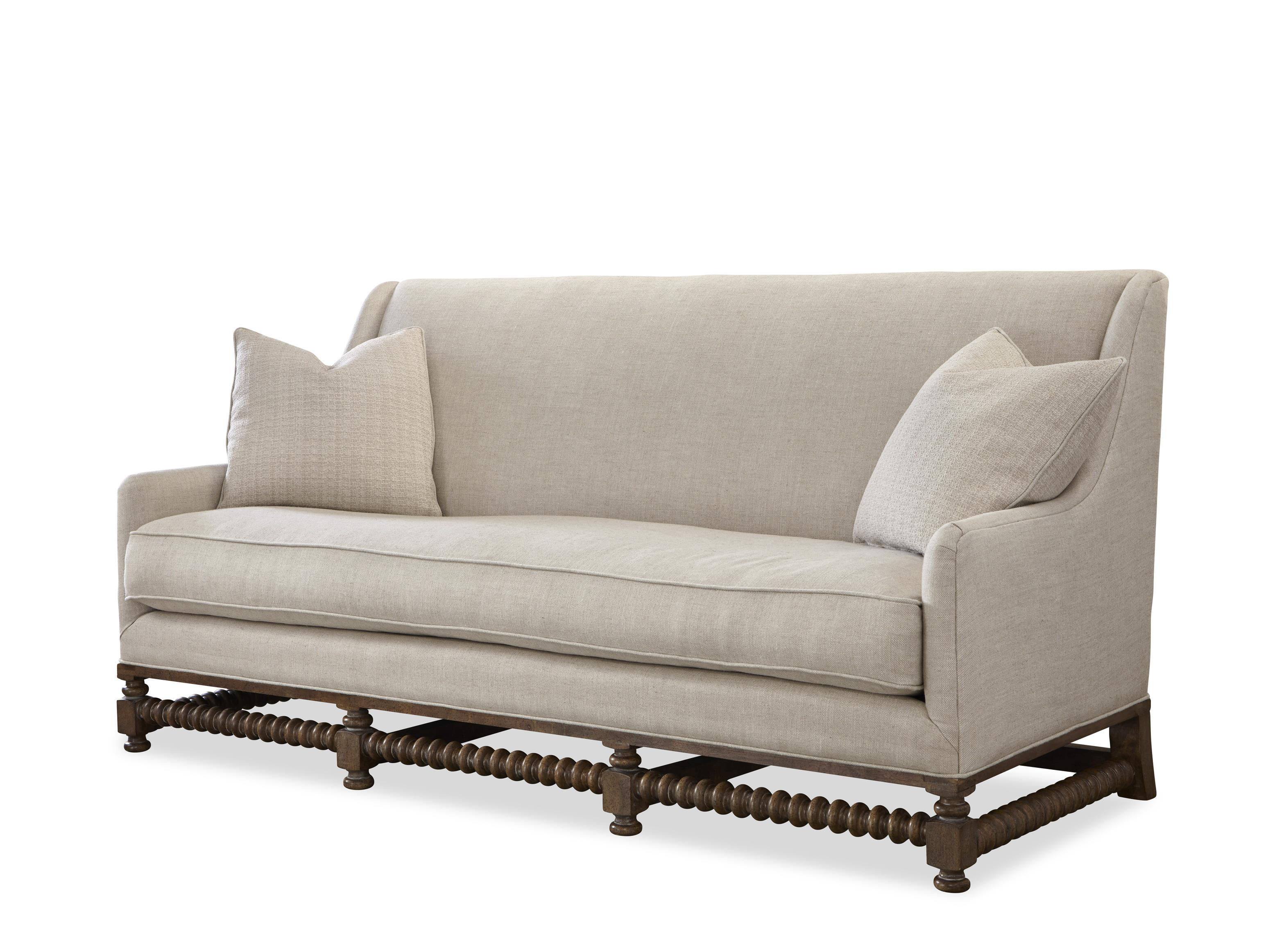 Universal Sundance CLEARANCE Contemporary Sloped Arm Sofa with