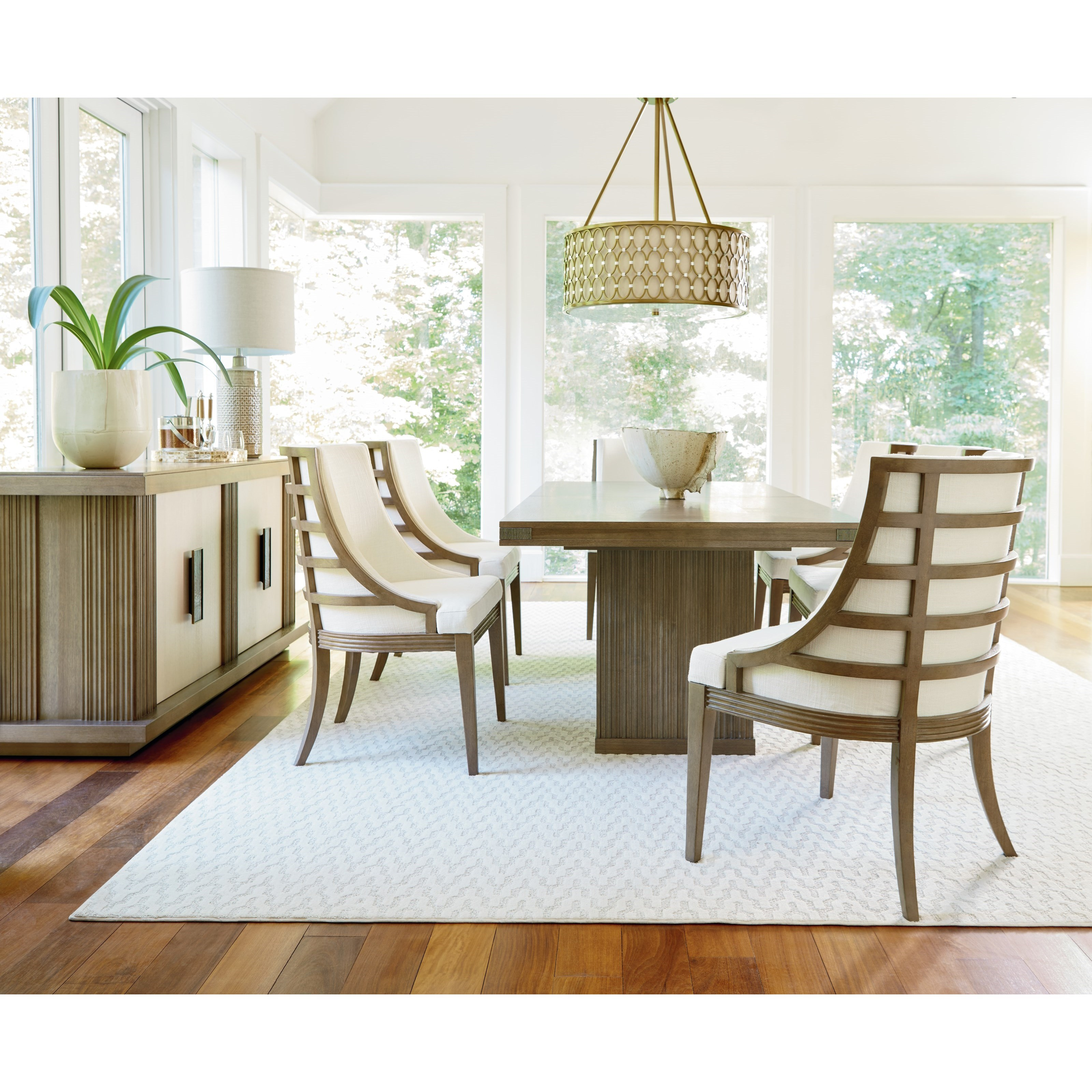 Casual Dining Room Furniture: Universal Synchronicity Casual Dining Room Group