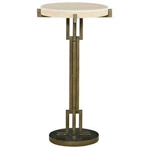 Great Rooms Synchronicity Metal Chair Side Table