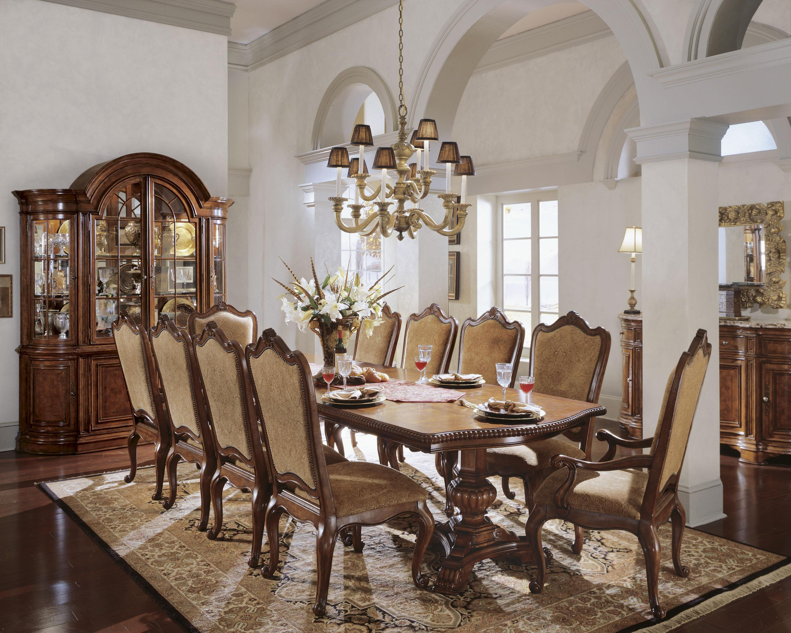 formal dining room fit for entertainment - florida inspired living