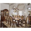 Universal Villa Cortina Formal Dining Room Group - Item Number: 409 F Dining Room Group 1