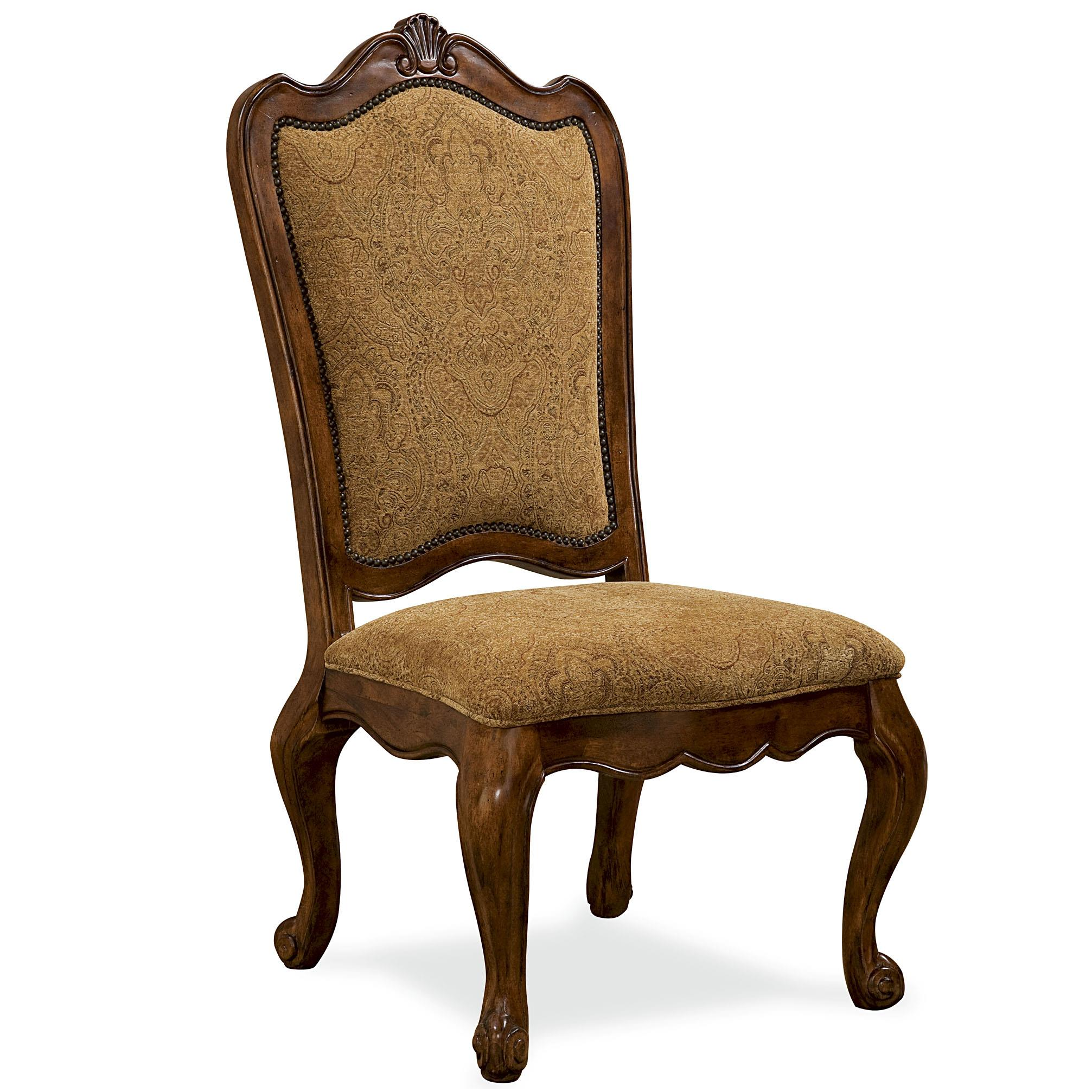 Universal Villa Cortina Upholstered Back Side Chair - Item Number: 409638