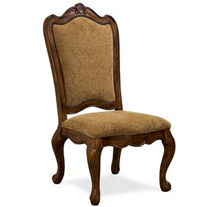 Universal Villa Cortina Upholstered Back Side Chair