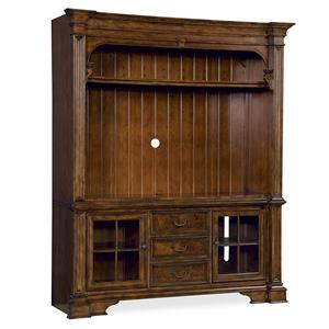 Universal Villa Cortina Flat Panel Console and Hutch