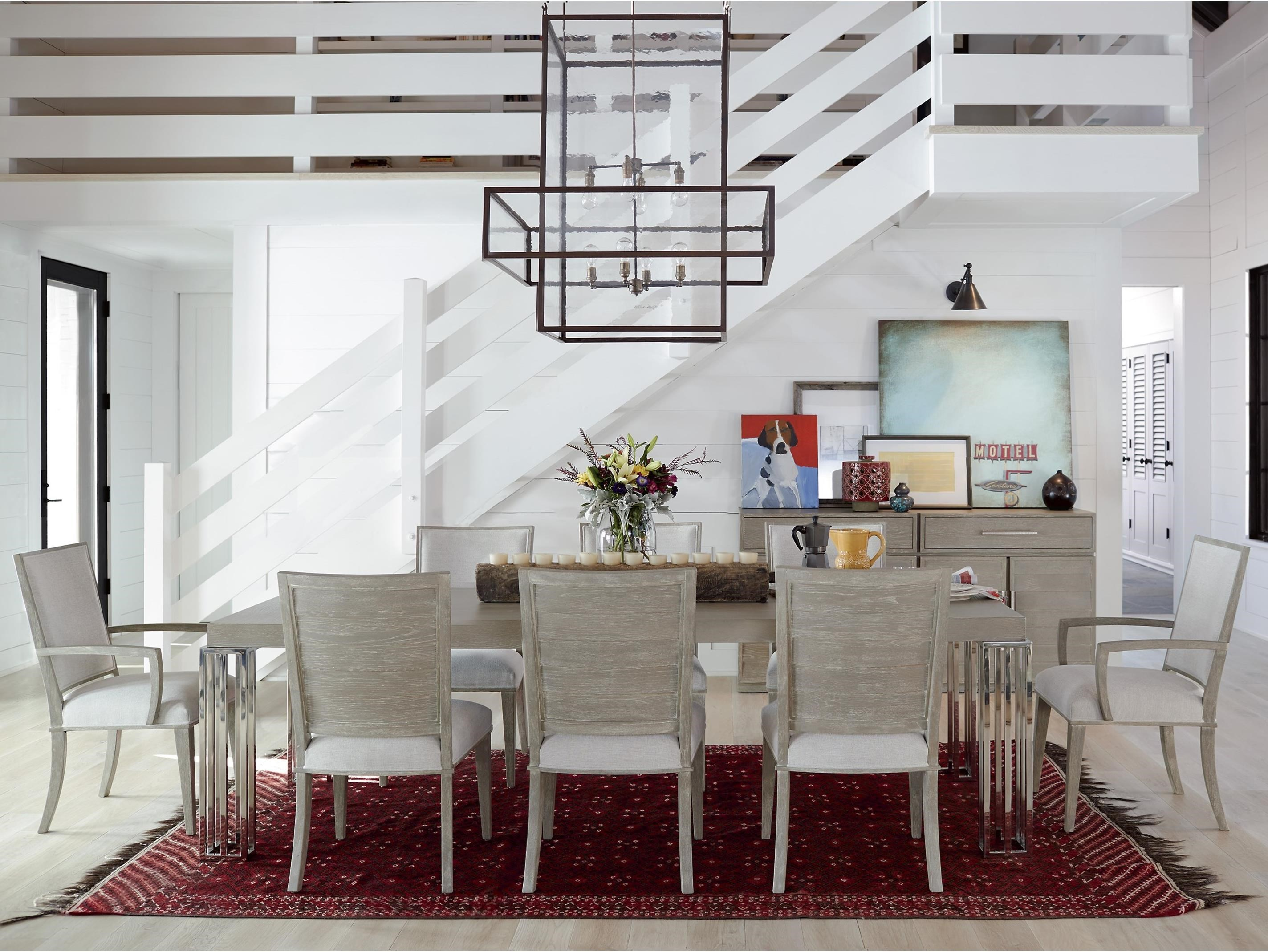 Zephyr 9 Piece Table and Chair Set by Universal at Baer's Furniture