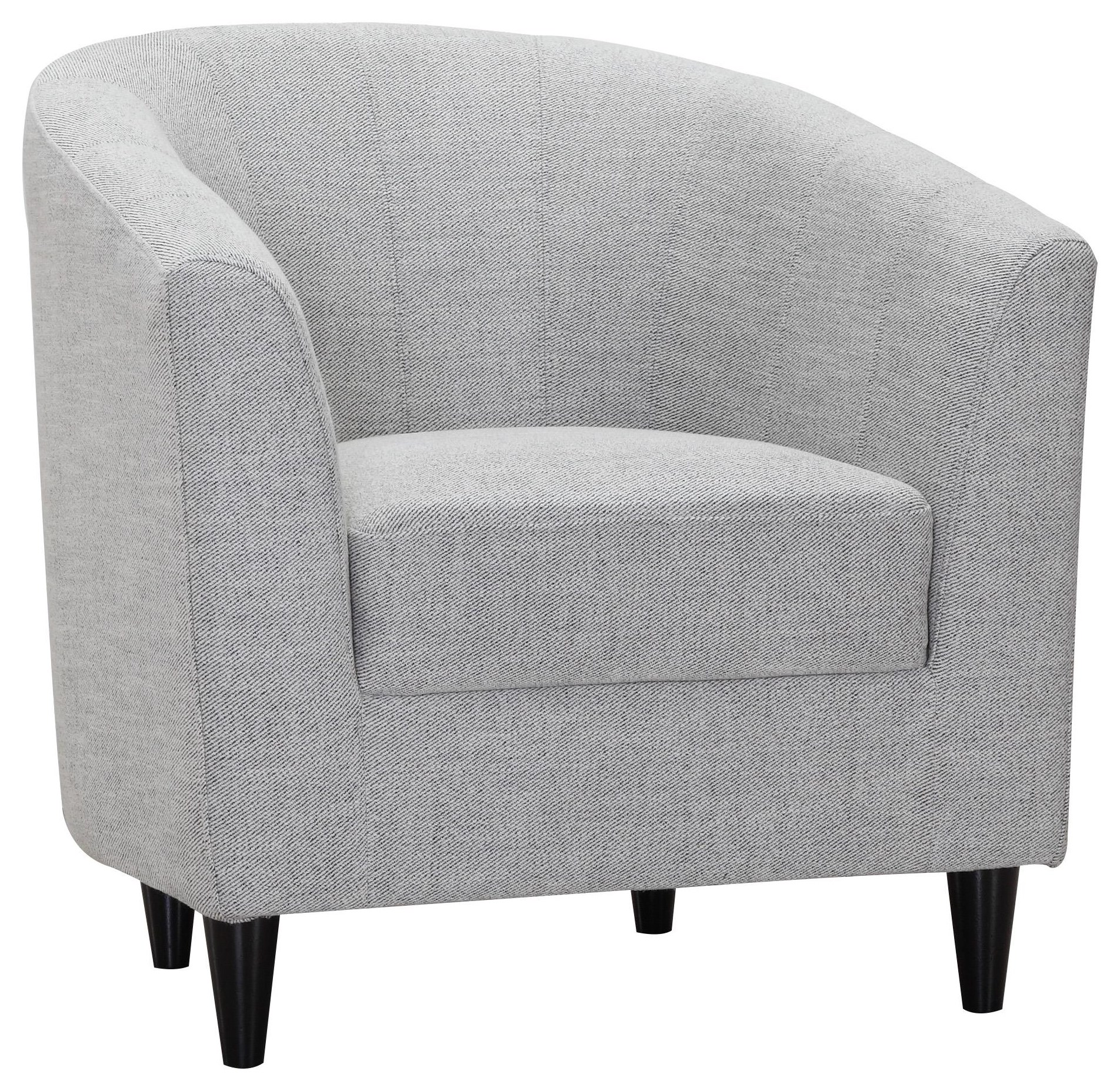 3935 Marcus Chair/julie 05-coal by Urban Chic at Stoney Creek Furniture