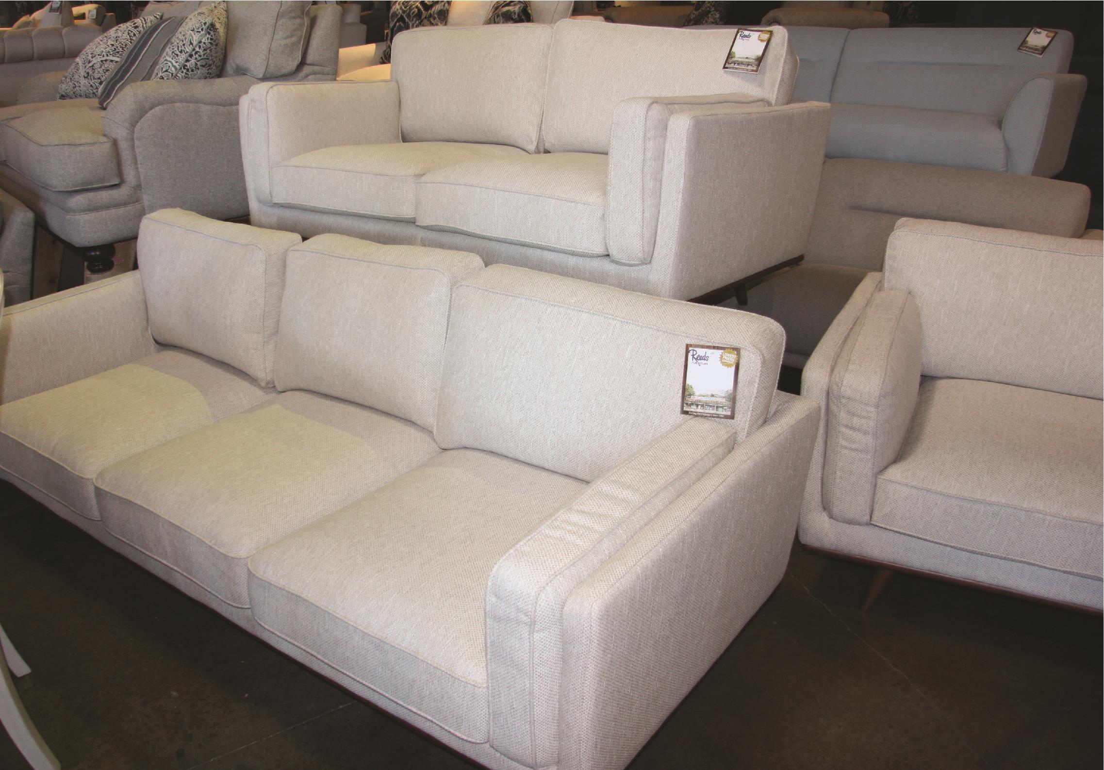 Loveseat with Memory Foam Seat