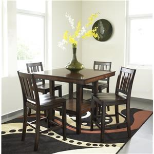 Urban Styles Crescent 5 pc Dining Set