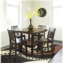 Urban Styles Crescent 5 pc Dining Set - Item Number: 2401