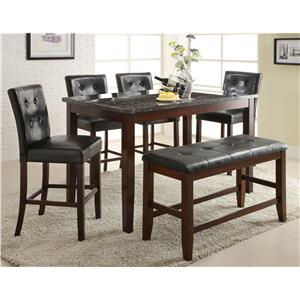 ... watchthetrailerfo Pub table and stool sets los angeles thousand oaks simi valley urban styles ashton rectangle counter ...  sc 1 st  Decoration For Buffet Table Ideas & Rectangle Pub Table Set Choice Image - Table Decoration Ideas