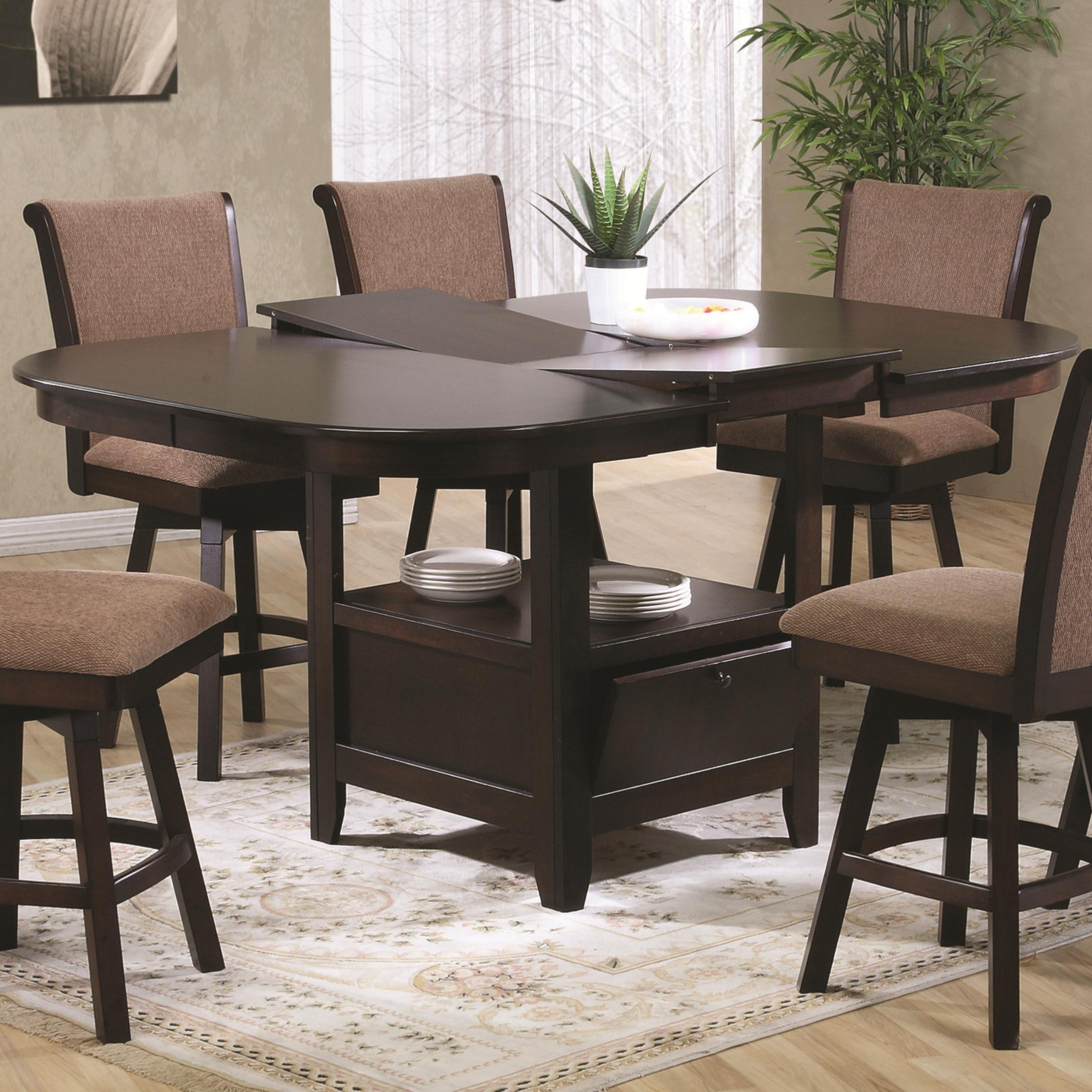 U.S. Furniture Inc 2241/2242 Dining Table - Item Number: 2241