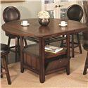 U.S. Furniture Inc 2251/2252 Pub Height Dining Table - Item Number: 2251
