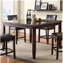 U.S. Furniture Inc Devlon Counter Height Dining Table - Item Number: 2723