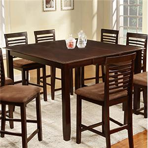 U.S. Furniture Inc 2744 Dinette Counter Height Table