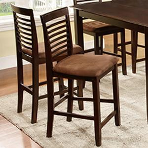 U.S. Furniture Inc 2744 Dinette Counter Height Chair - Item Number: 2745