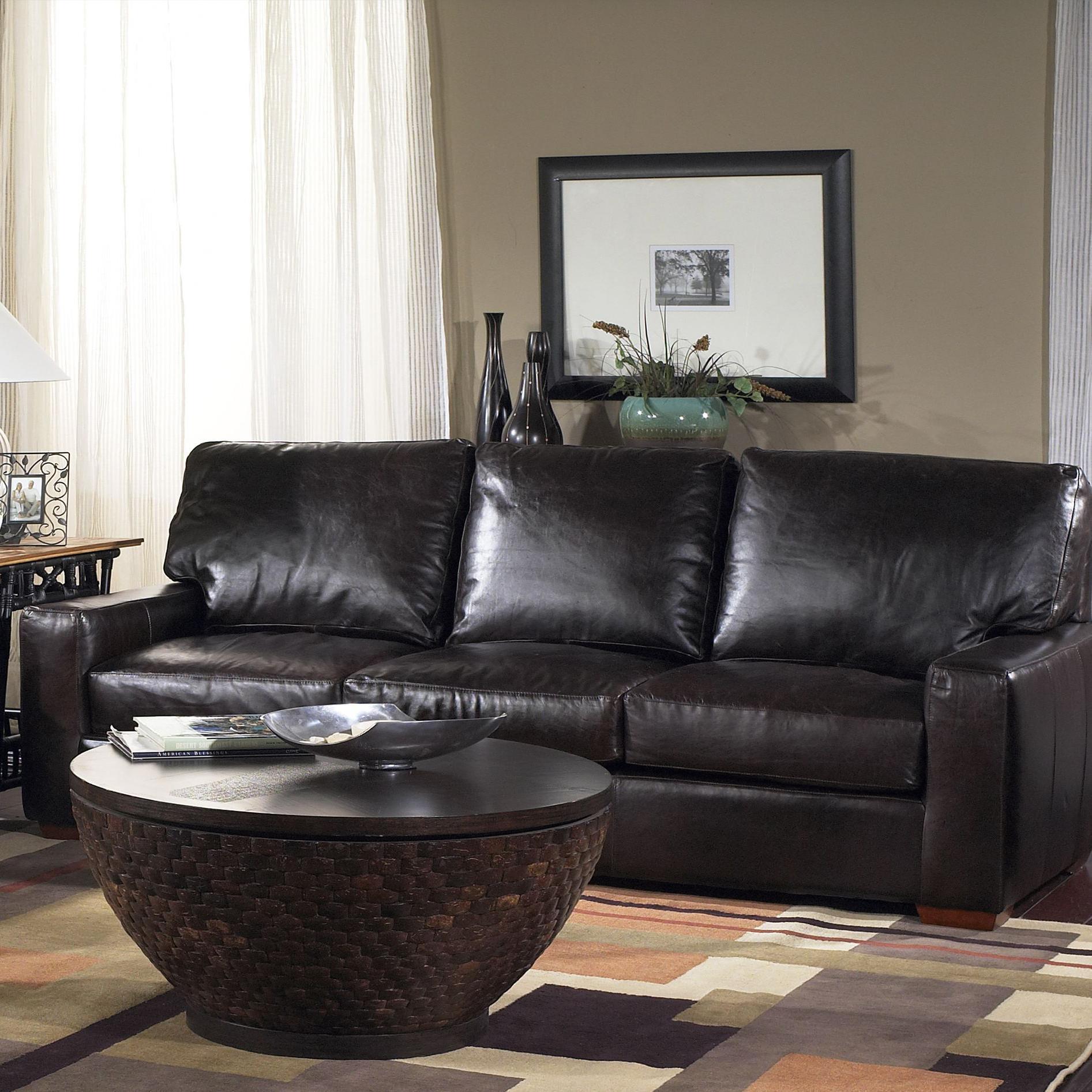 USA Premium Leather 2655 Sofa - Item Number: 2655-30