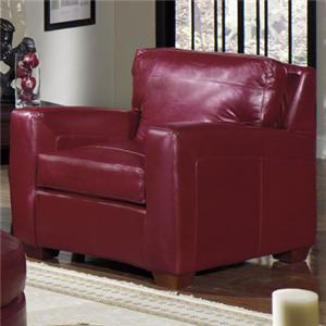 USA Premium Leather 2950 Leather Armchair