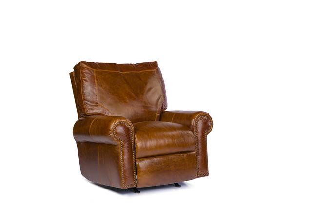 USA Premium Leather 4955 Rocker Recliner - Item Number: 4955-1R