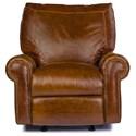 USA Premium Leather 4955 Rocker Recliner - Item Number: 4955-1R-PECAN+GATOR