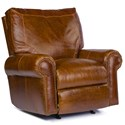 USA Premium Leather 4955 Traditional Leather Rocker Recliner