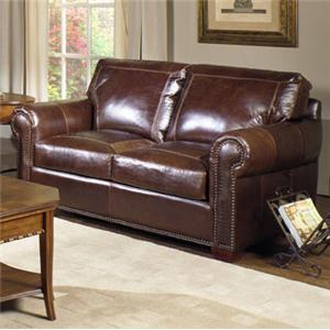 USA Premium Leather 4955 Loveseat