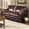 USA Premium Leather 4955 Loveseat - Item Number: 4955-20