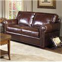 USA Premium Leather Kingsway Loveseat - Item Number: 4955-20