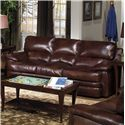 USA Premium Leather 5855 Sofa - Item Number: 5855-30