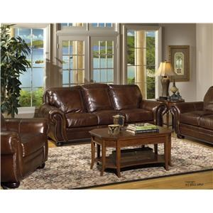 USA Premium Leather Highfield Loveseat