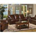 USA Premium Leather Highfield Loveseat - Item Number: 8555-20