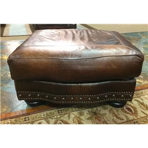 USA Premium Leather 8755 Ottoman