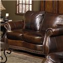 USA Premium Leather 8755 Love Seat - Item Number: 8755-20