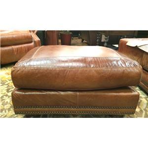 USA Premium Leather 9055 Ottoman