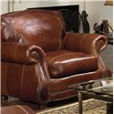 USA Premium Leather 9055 Chair  - Item Number: 9055-10