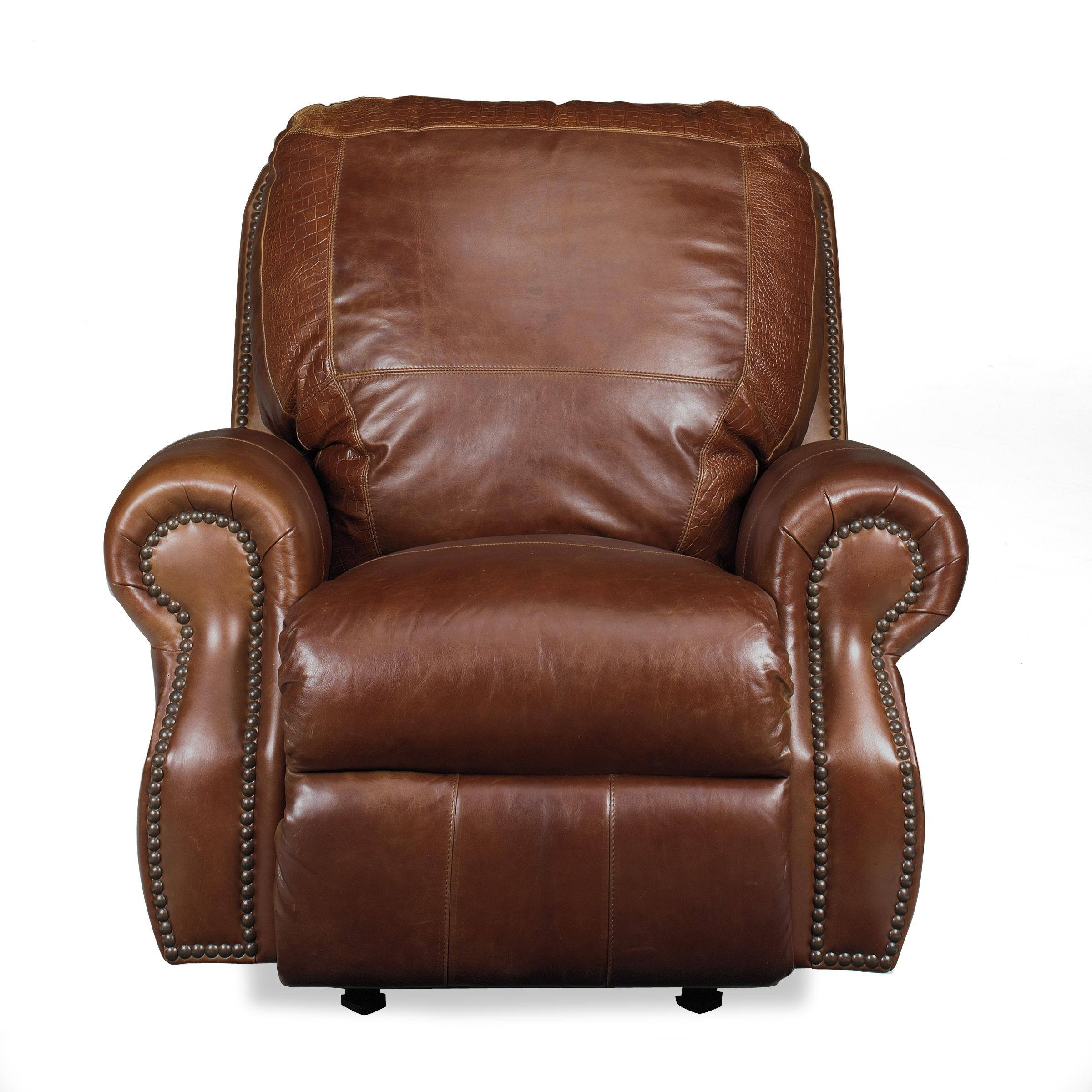 USA Premium Leather 9055 All Leather Recliner Miskelly Furniture