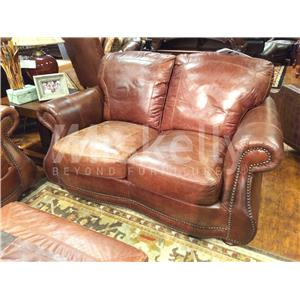 USA Premium Leather 9055 Love Seat