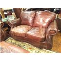 USA Premium Leather 9055 Love Seat - Item Number: 9055-20 LS