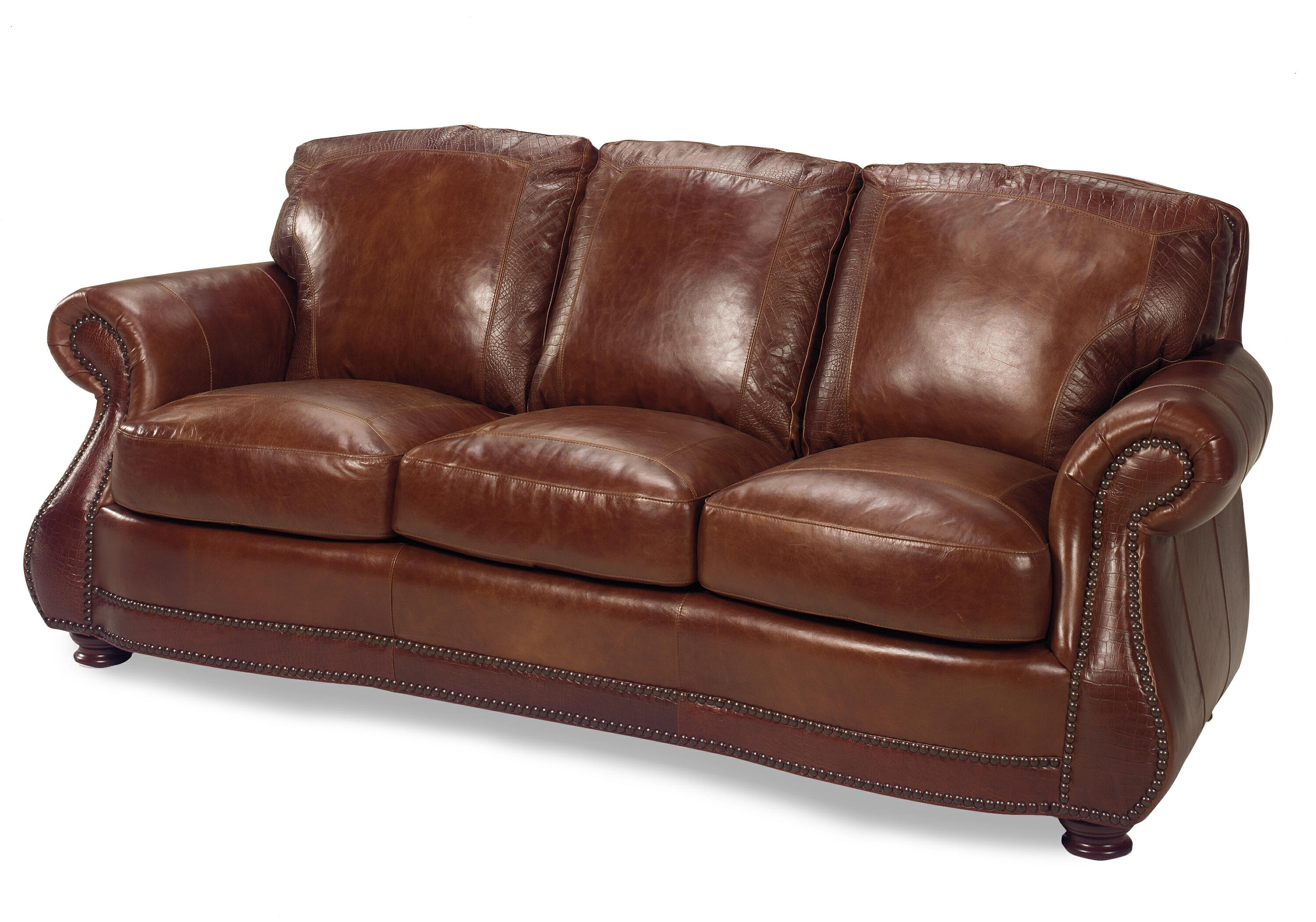 9055 Sofa by USA Premium Leather at Dream Home Interiors