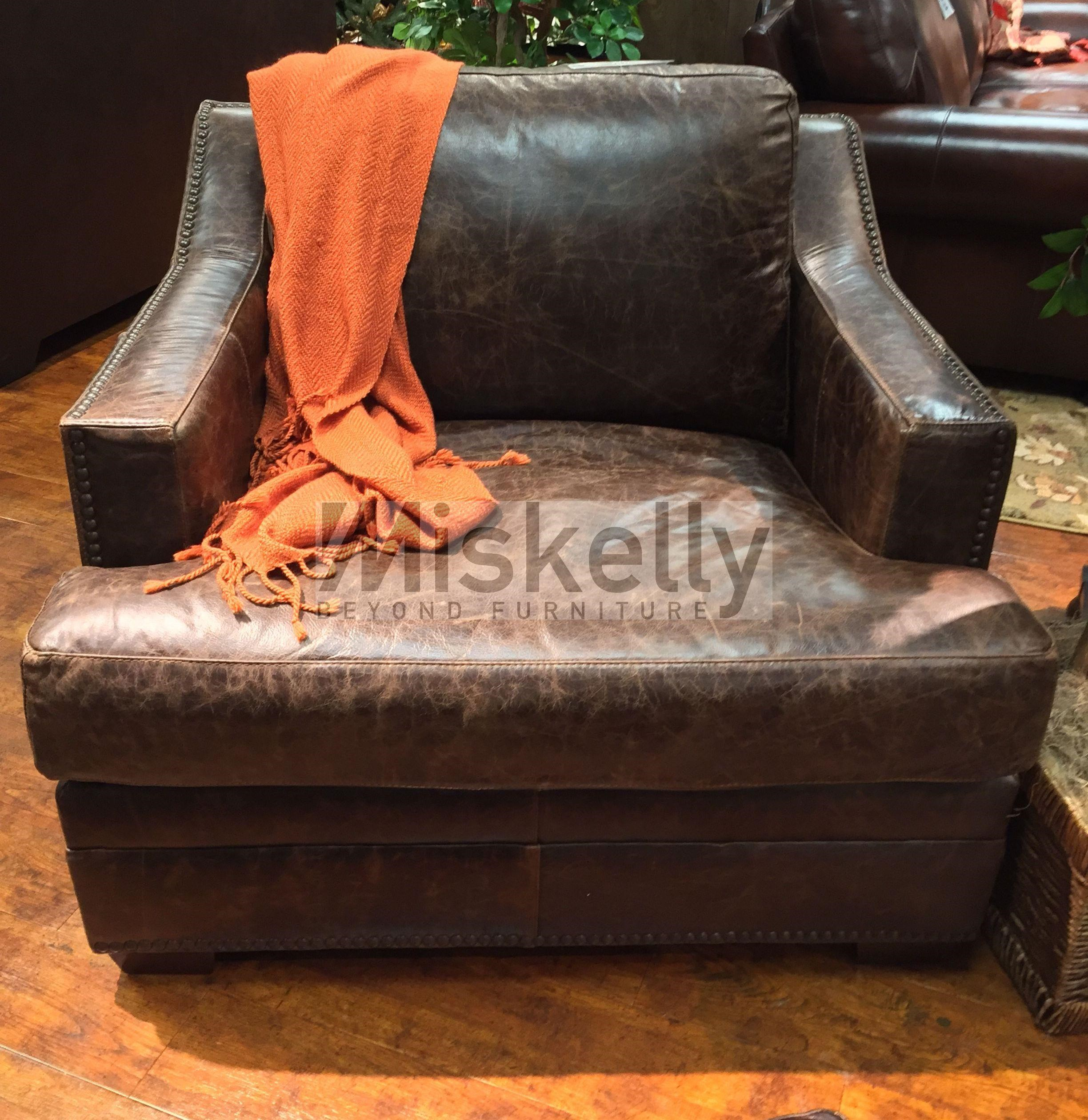 USA Premium Leather 9355 Chair Miskelly Furniture Upholstered