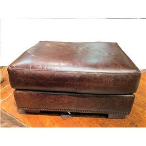 USA Premium Leather 9355 Ottoman