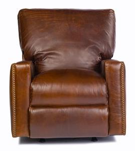 USA Premium Leather 9355 Power Recliner - Item Number: 9355-1P-Antique-Brown
