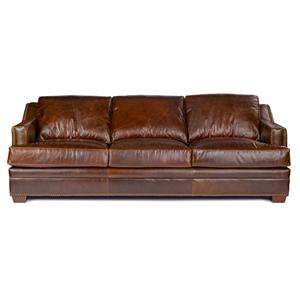 USA Premium Leather Windsor Sofa