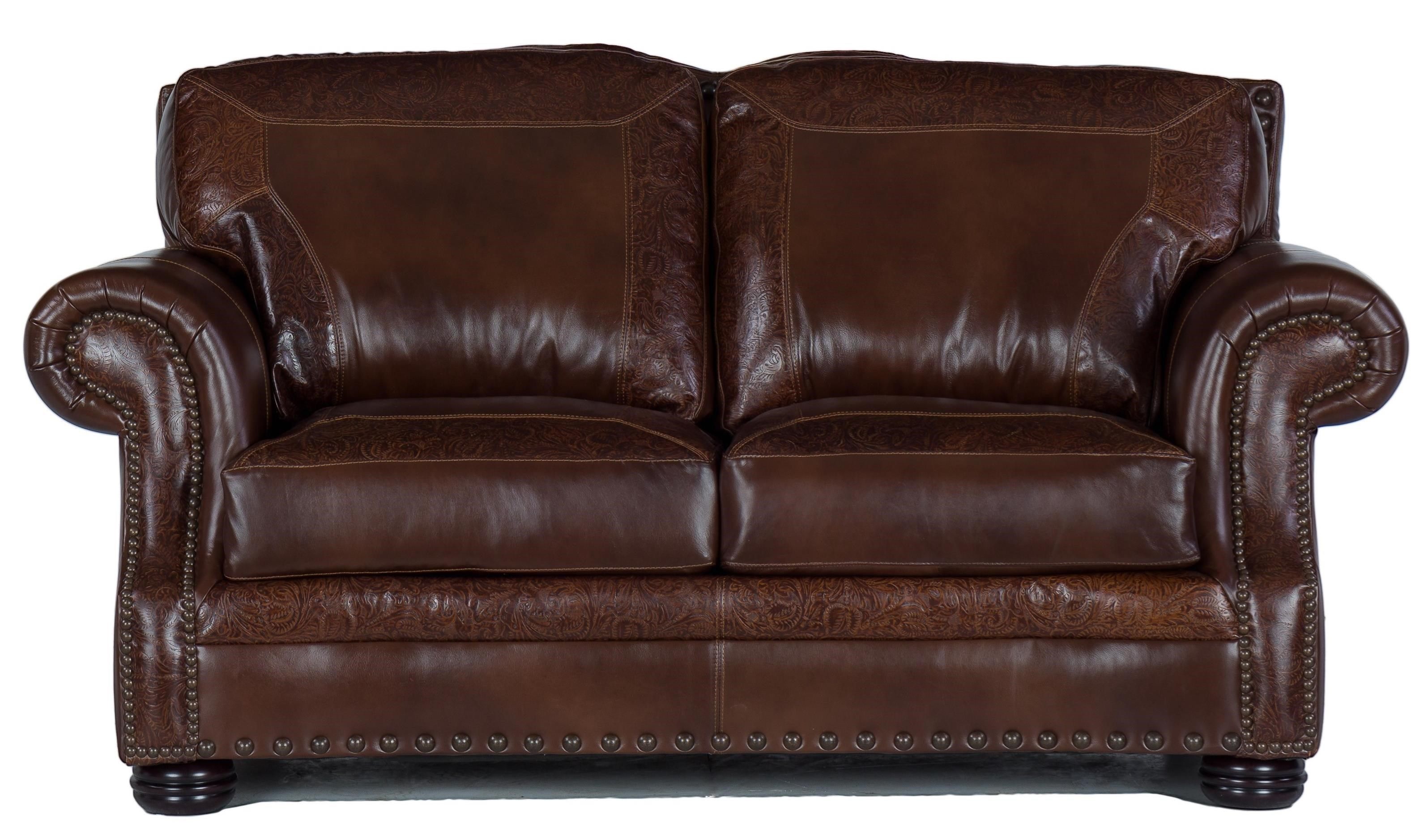 9750 Loveseat by USA Premium Leather at Dream Home Interiors