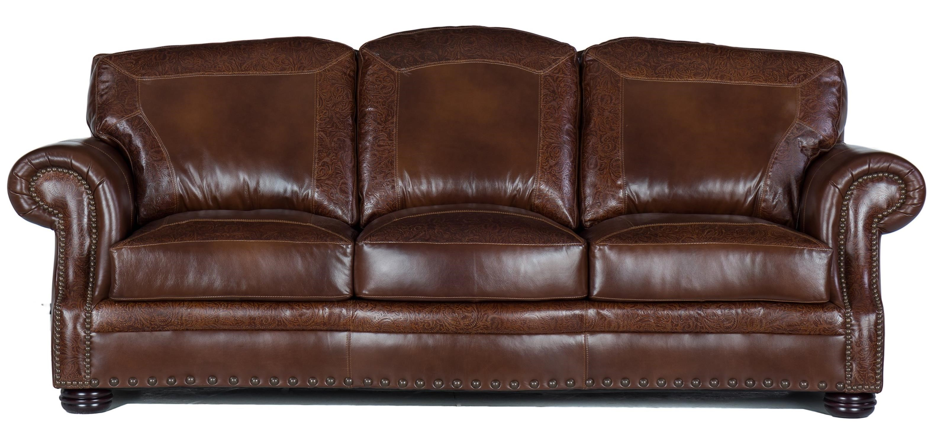 9750 Sofa by USA Premium Leather at Dream Home Interiors
