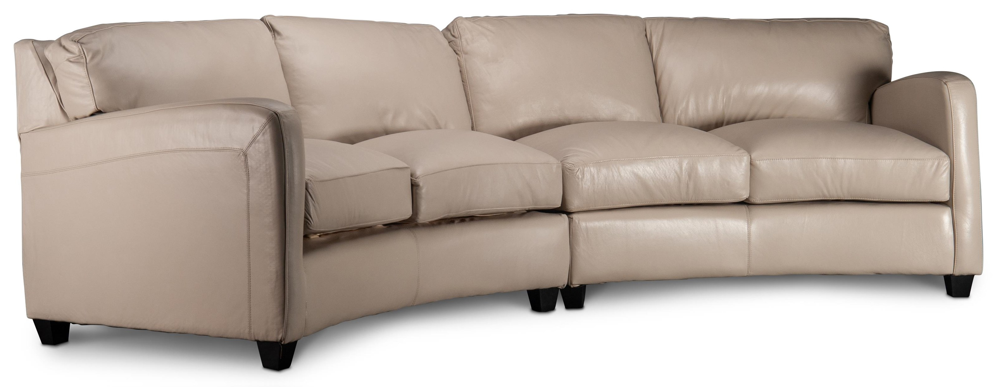 Brynlee Brynlee Leather Sofa by USA Premium Leather at Morris Home