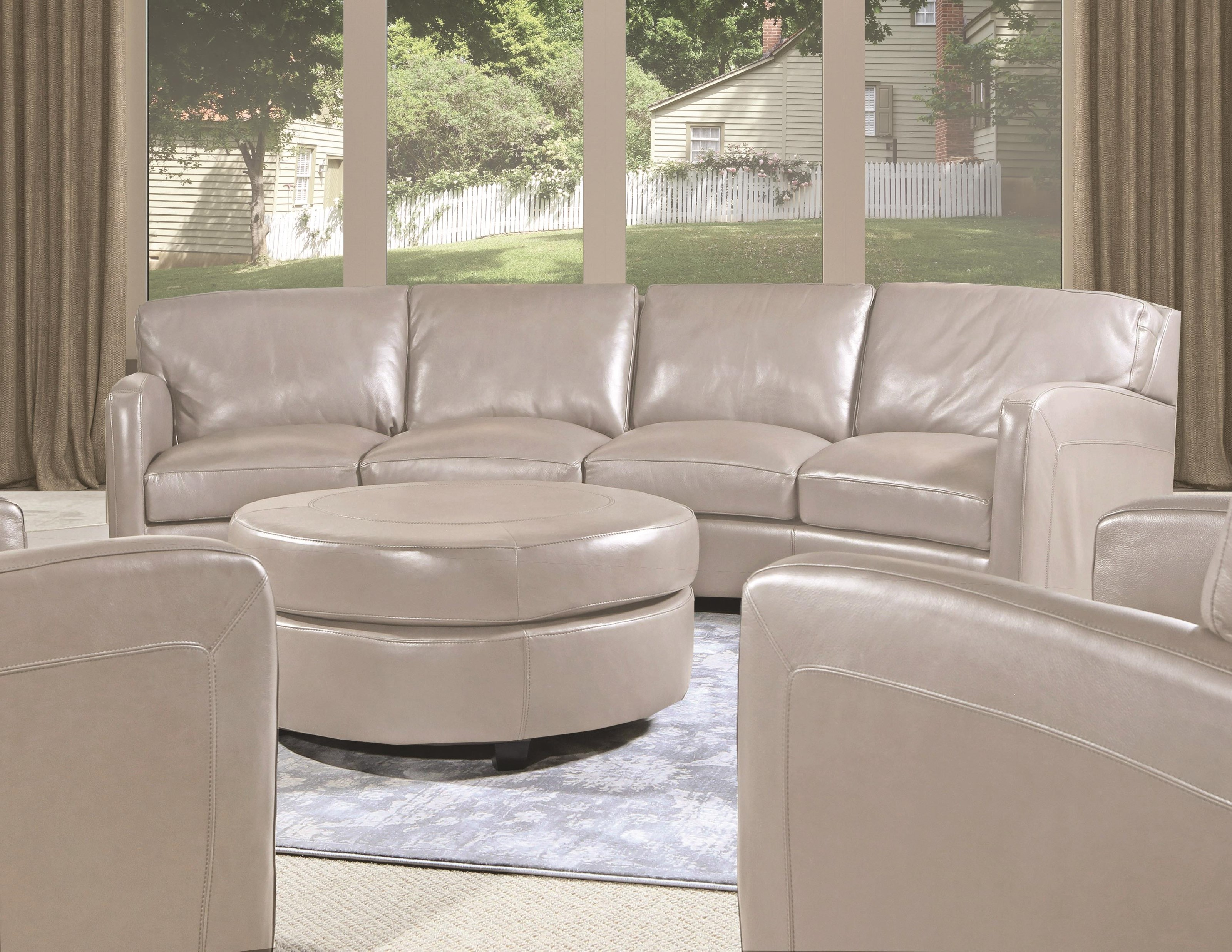 Brynlee Leather Sofa Graph