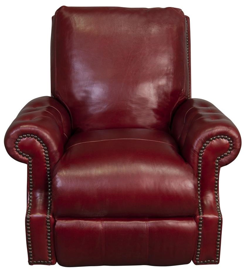 Jacoby 100% Top Grain Leather Power Recliner