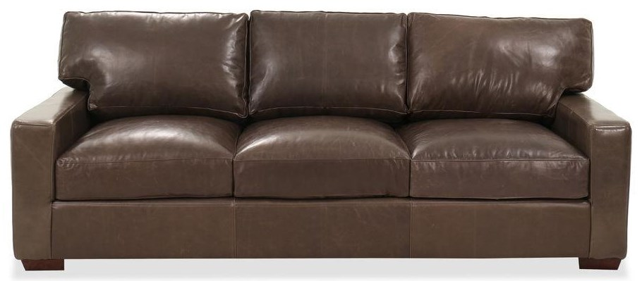 Matteo Matteo Top Grain Leather Sofa by USA Premium Leather at Morris Home