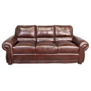 Peirce 100% Top Grain Leather Sofa